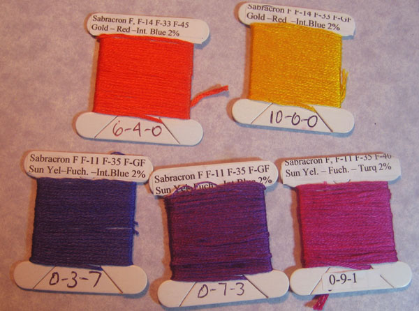 colors for the handwoven ALC costume