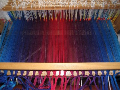 loom, warped and ready to go