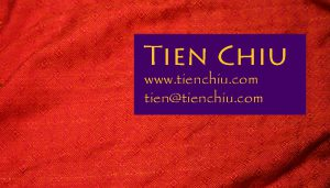 tienchiu business card