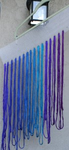 sample dye skeins