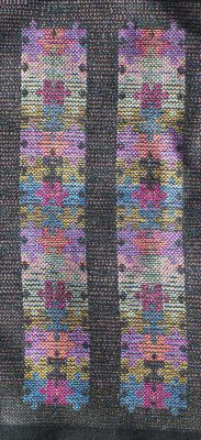 handwoven taquete bookmarks, front