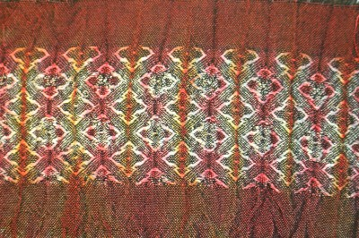 Handwoven.net draft #27803 with diamond overlay, dyed - front