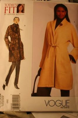 A somewhat less elegant coat pattern