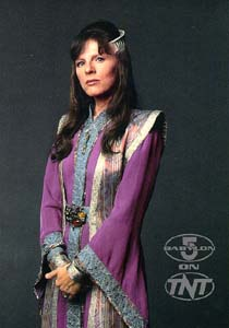 Delenn, the Minbari ambassador to Babylon 5