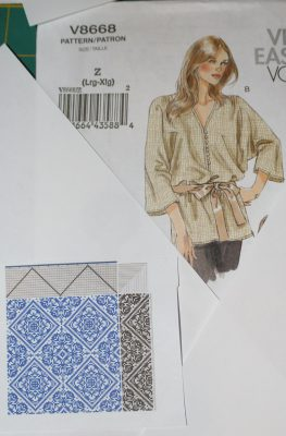 A loose-fitting tunic