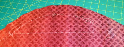 thread traced seam