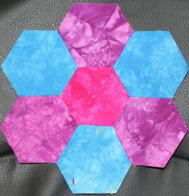 hexagon block