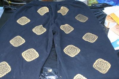 printed sweatpants!