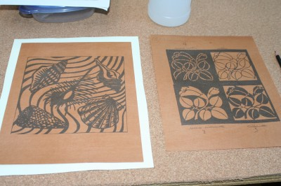 The initial images for my stencils