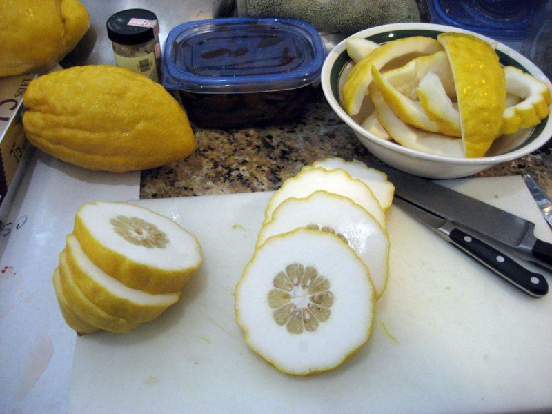an Etrog citron