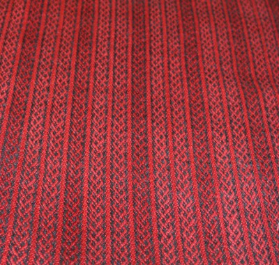 Celtic braid stripe fabric