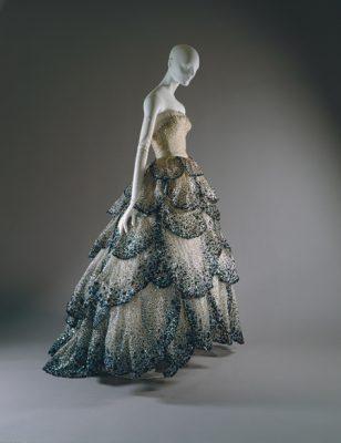 "Christian Dior dress, ""Junon"""