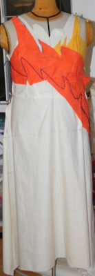 muslin, front view