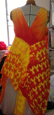 back of new muslin for Phoenix Rising