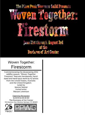 Firestorm postcard