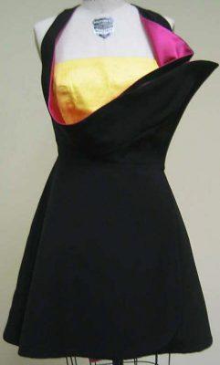 evening dress, by Versace
