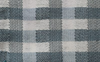 woven sample - white and medium to light gray