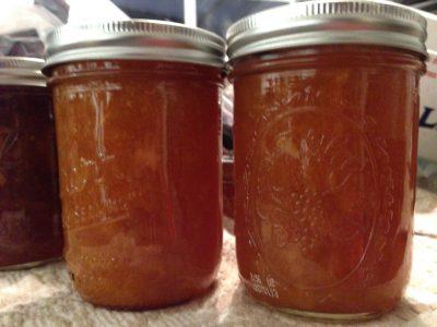 aprium-ginger-vanilla jam