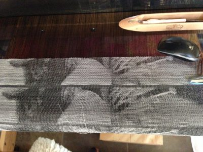 jacquard weaving - 8 end satins and 11-end satins