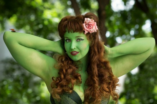 Poison Ivy character (copyright 2014 Subversive Photography)