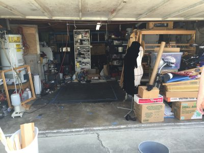 """after"" photo of garage"