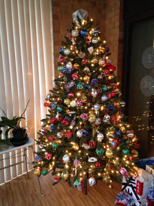 My mother's Christmas tree