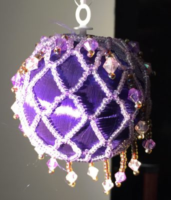 Christmas ornament made by my mom