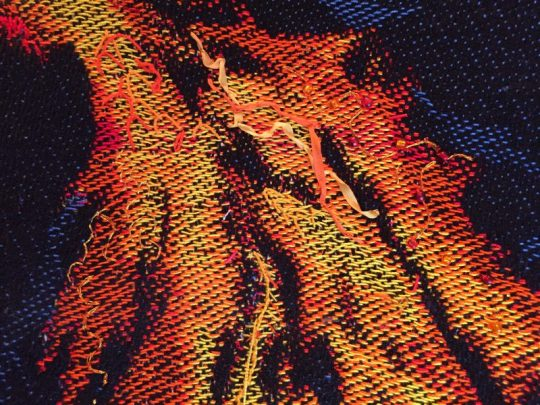 embroidery samples for handwoven phoenix