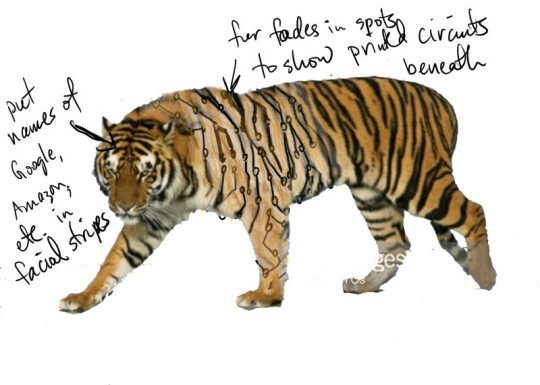circuit board tiger