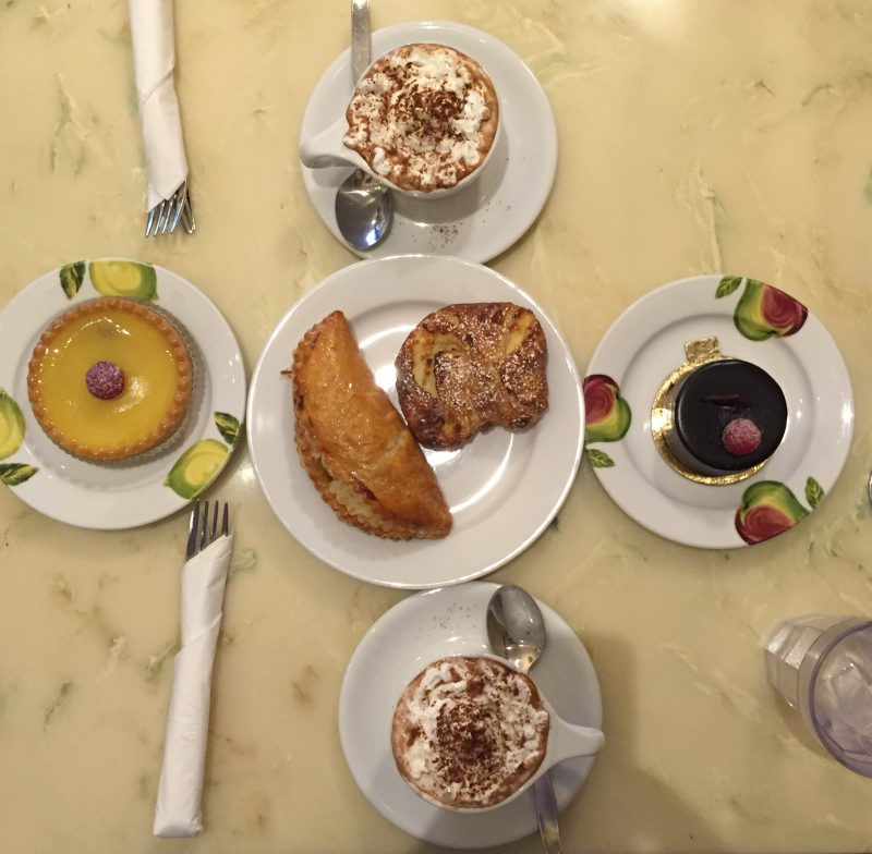 pastries at Fleur de Cocoa