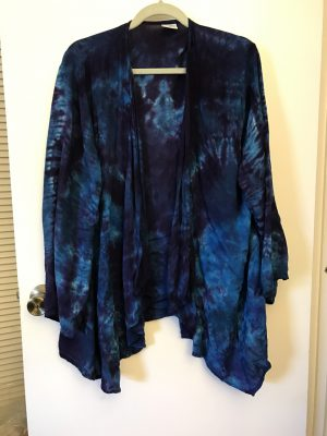 """Waterfall jacket"" from Dharma Trading Company"