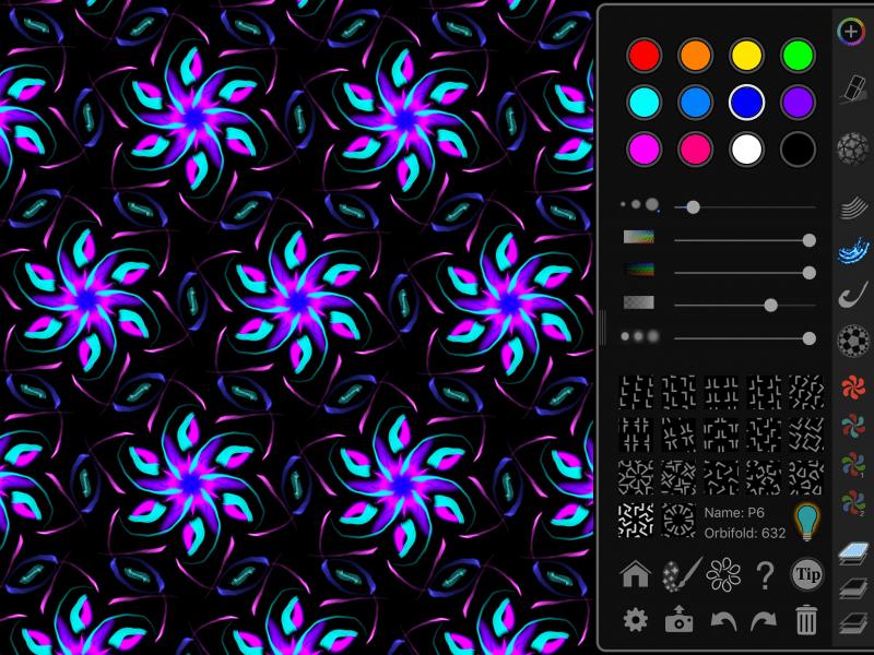 design under P6 symmetry