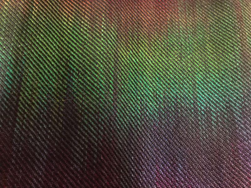 twill sample woven in September