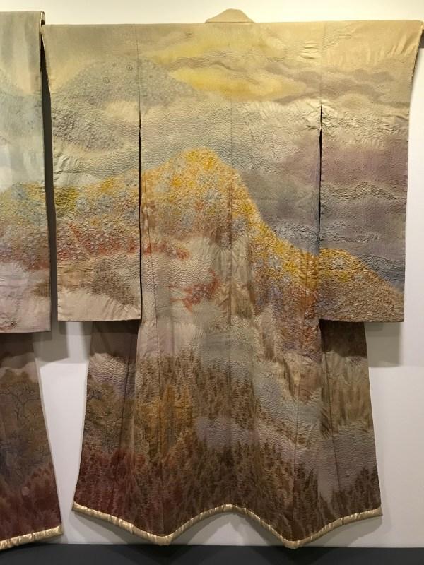 "Itchiku Kubota's kimono ""Hin (Nostalgia)"""