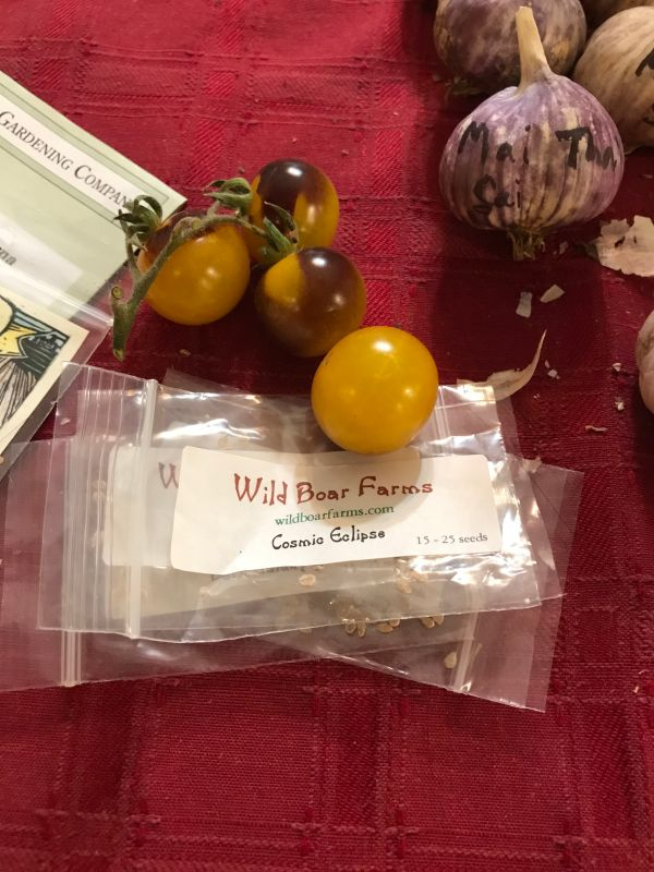 tomato seeds from Brad Gates