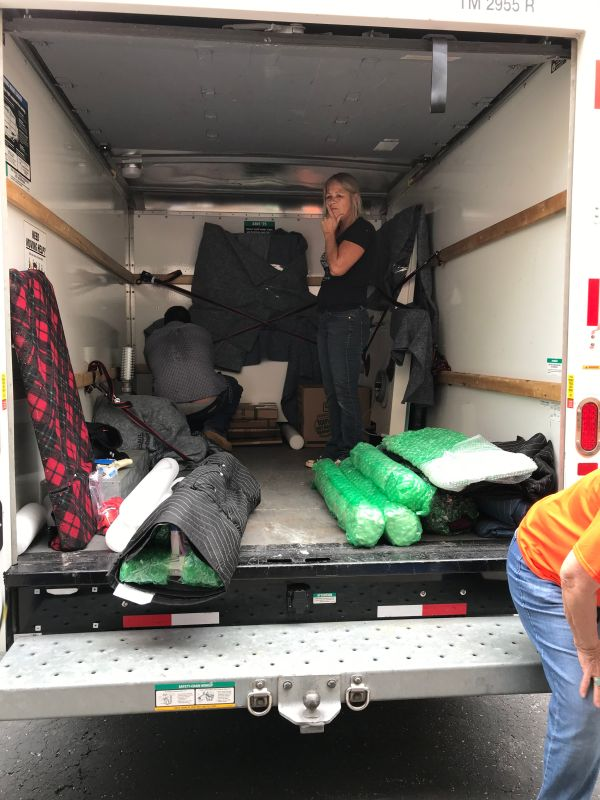 Packing the rest of the TC-2 into the U-haul