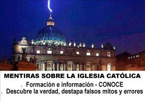 pagina mentiras sobre la iglesia catolica