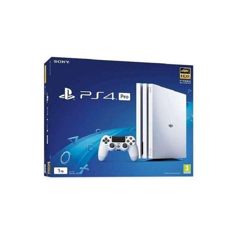 Comprar Consola PlayStation 4 Pro 1TB Blanca Tienda CPU