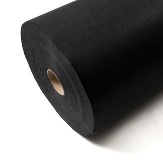 Entretela adhesiva negra