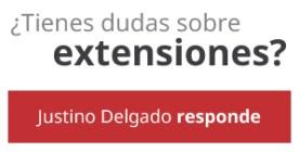 ¿Tienes dudas sobre extensiones? Justino Delgado responde