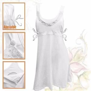 Camison Maternal Lactancia 100%algodón Amamantar Embarazo