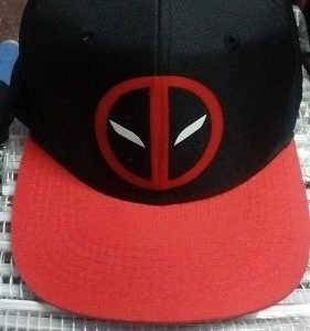 Gorras Planas Deadpool - Comics