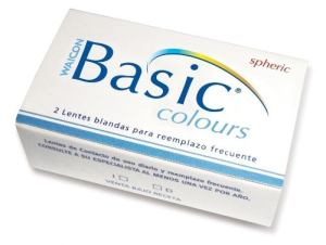 Lentes De Contacto Color Basic Colours Uso Mensual