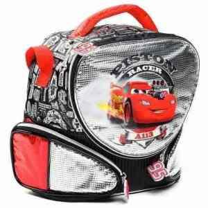 Lunchera Infantil Térmica Cars Rayo Mc Queen Lic. Original