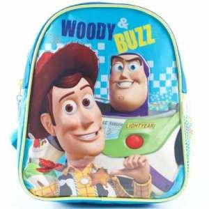 Mochila Espalda Jardin 12p Toy Story Buzz Woody Mundo Manias