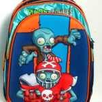 Mochilas Plantas Vs Zombies C/carrito  2017 Mundo Moda Kids