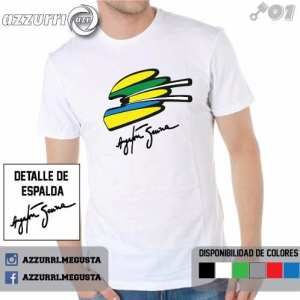 Remera Estampadas Ayrton Senna