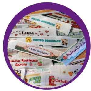 Cinta Identificadoras Personalizadas Plancha Ropa Soy Luna