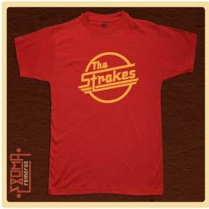 Exoma Remeras Rock The Strokes