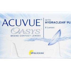 Lentes De Contacto Acuvue Oasys Hydraclear Plus+ Uv X 6